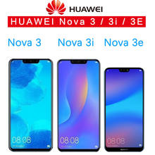 Huawei Nova 3 LCD Display Touch Screen PAR LX1 LX9 Nova 3i LCD INE LX2 L21 Nova 3e Display ANE LX3 L23 Screen Nova3 Replacement цена
