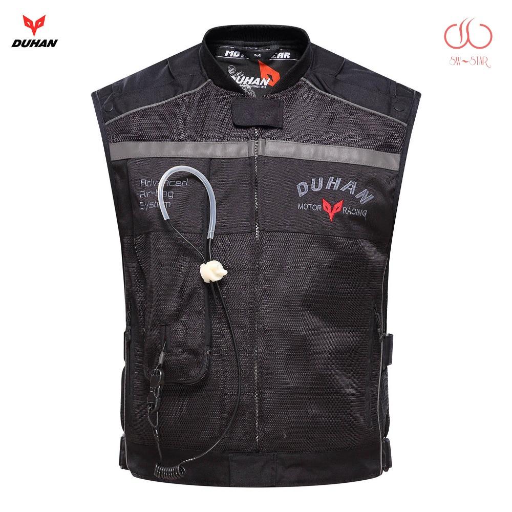 Prix pour Moto air-sac gilet duhan air sac gilet moto racing professionnel avancé air sac système motocross de protection airbag cylindre