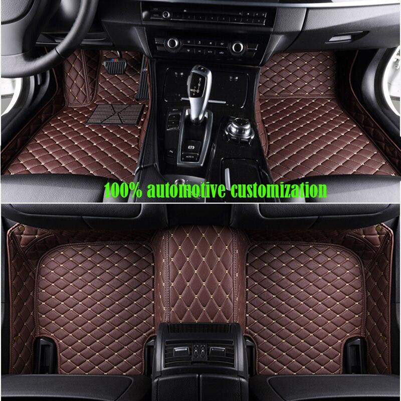 XWSN custom car floor mats for suzuki All models suzuki swift suzuki sx4 2007-2017 jimny wagon car mats Auto accessories