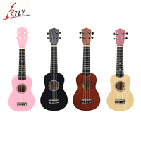 21 Basswood Beginner Acoustic Ukulele 4 Strings Mini Hawaii Guitar Ukelele for Students Kids Freeshipping