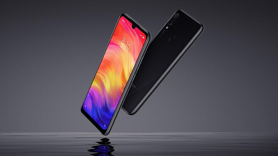 """Глобальная версия Xiaomi Редми Примечание 7 4 ГБ 64 ГБ мобильный телефон Snapdragon 660 восьмиядерный 4000мАч 48MP 5-мегапиксельная двойные камеры 6.3"""" в полном экране"""