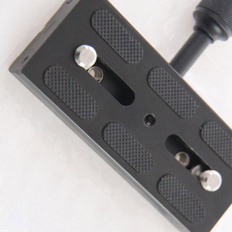 Горячая мм 120 мм Professional камера монопод с быстроразъемной шаровой головкой объектив камеры DSLR SLR алюминиевый сплав Зажим адаптер падение sh