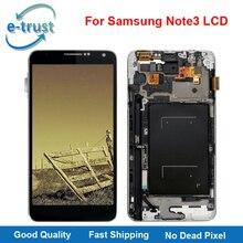 E-confiance Highcopy AAA + LCD Affichage Pour Samsung Note 3 n900 n9005 n900A n9000A Écran Tactile Avec Cadre Assemblée + Livraison gratuite