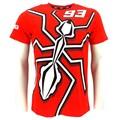 2015 nova marc marquez 93 grande formiga moto gp t-shirt vermelha moto gp schwarz offizielle camisas casual t