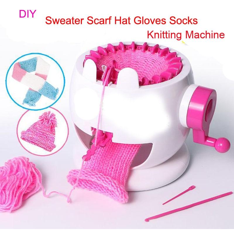 Knitting Machine Diy : Diy hand sweater knitting machine large weaver creative