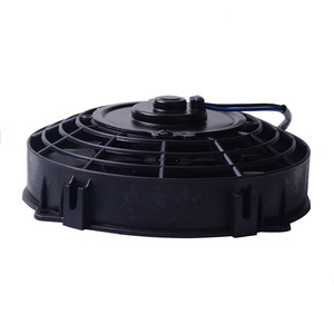 "Image 4 - SPEEDWOW אוניברסלי 7 ""מנוע מנוע רדיאטור קירור חשמלי למשוך לדחוף מאוורר רדיאטור מנוע קירור מאוורר 12V 80W"