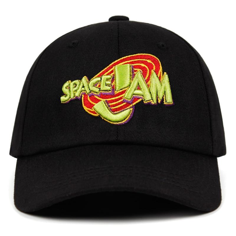Jordans Movie Space Jam Dad Hat Fashion Curved Chapeau  Casquette Baseball Cap Brand SpaceJam Snapback Hip Hop Bone Men Women