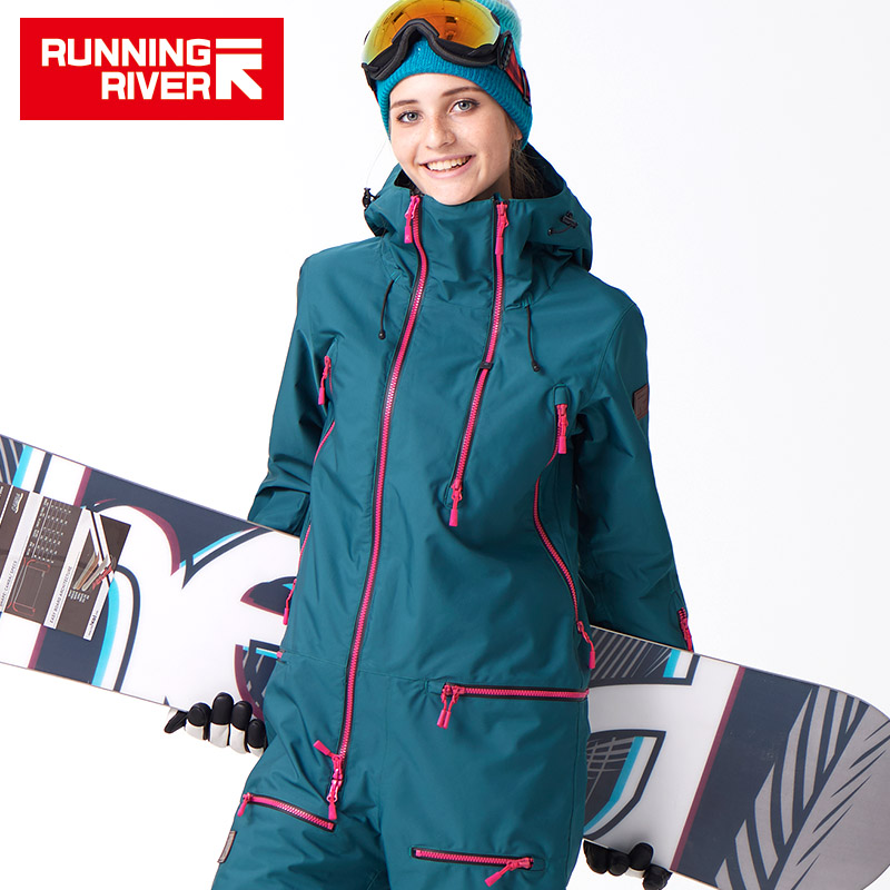 RUNNING RIVER Brand Waterproof Jacket For women Snowboard Suit women Snowboard Jacket Female Snowboarding Set Clothing #B7091 ...