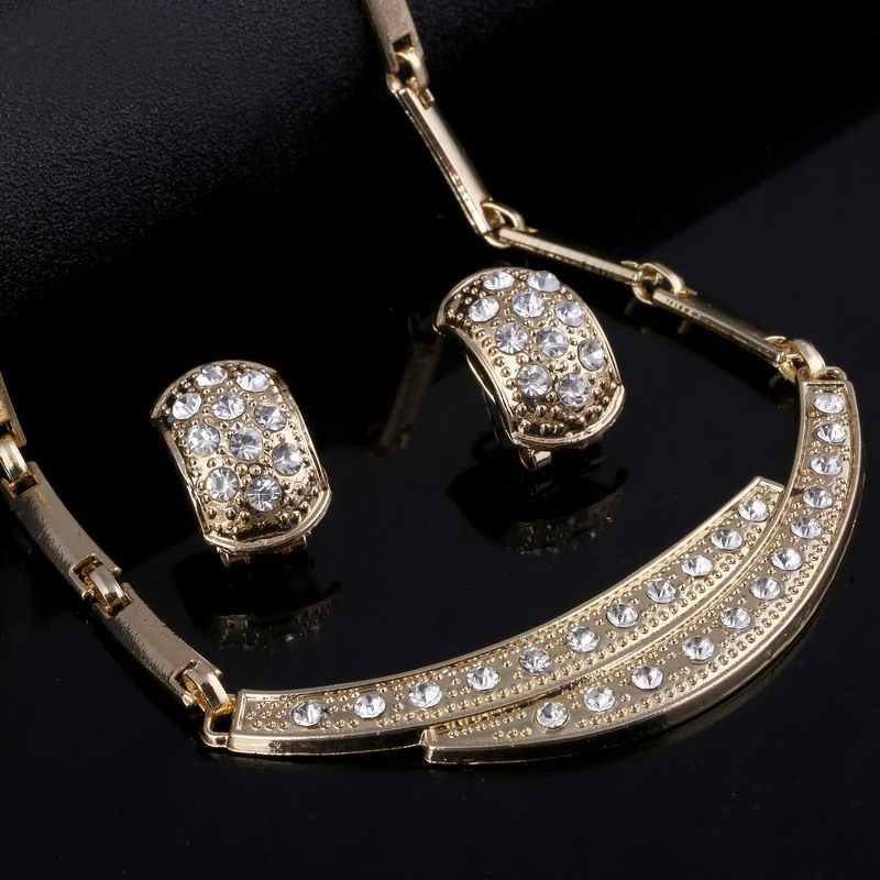 ZOSHI Ювелирные наборы для женщин индийский Африканский ювелирный набор завод Вечерние Дешевые Свадебные украшения для невесты ювелирные изделия из золота из Дубаи наборы