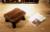 Paulownia madeira queima arredondado criança mudando seus sapatos fezes fezes fezes fezes versátil japonês pequeno