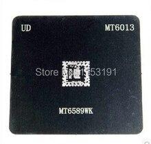 2 pçs/lote Reball BGA Stencil para MTK MT6589 MT6589WK MT6013