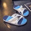 Пляж слайды Мужчины Сандалии Известная Марка Дизайнер Повседневная Плед Полосы Тапочки Летняя Мода Открытый Случайные Пляжная Обувь флип fiop