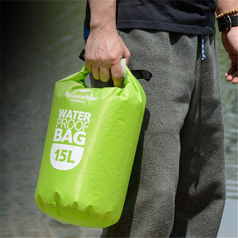 Prix pour Super léger sac étanche Extérieure pataugeant dérive de natation dans le sac nombre 15/25 l multi-fonctionnelle étanche recevoir sac