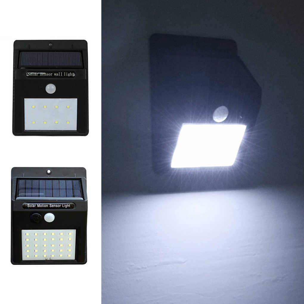 8 светодиодный/30 светодиодный датчик движения PIR на солнечной энергии, настенный светильник на открытом воздухе, водонепроницаемый энергосберегающий садовый светильник для дома и сада