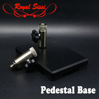 1set heavy duty pedestal base for fly tying vise with standard 3/8''or 5/16'' shaft fly tying tools accessories independent base