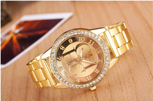 New fashion Women's watches women luxury brand quartz watch steel diamond women dress watches gift Relogio Masculino Reloj Mujer