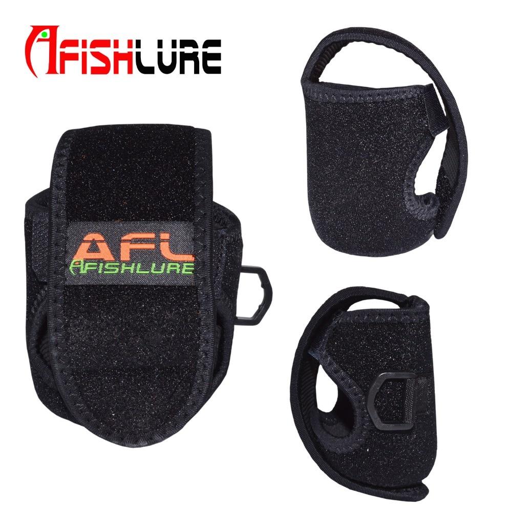 New Casting reel bag 8.4cm*6.3cm Reel Case Protective cover Fishing Reel Bag Fishing Wheel Tackle Equipment Storage Bag Reel
