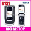 Разблокирована Оригинальный Nokia 6131 Дешевый Мобильный Телефон
