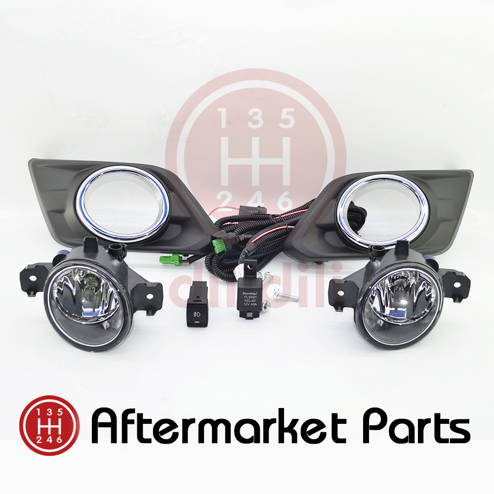 Противотуманные фары лампы Комплект для Nissan изгоев Икс Трейл х-Трейл 2015 2014 2016