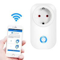 TIANJIE Wifi Smart Plug Home Automation Phone App Timing Switch Remote Control Wifi Socket Working With