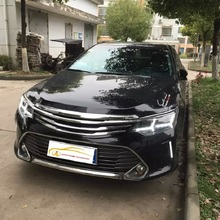 Car Styling The Mona Lisa style Refitting grille grill Fit for 2015 style Toyota Camry high quality black grill personality
