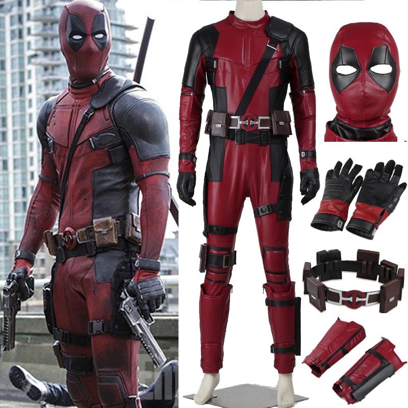 Popular Deadpool Costume Mask Buy Cheap