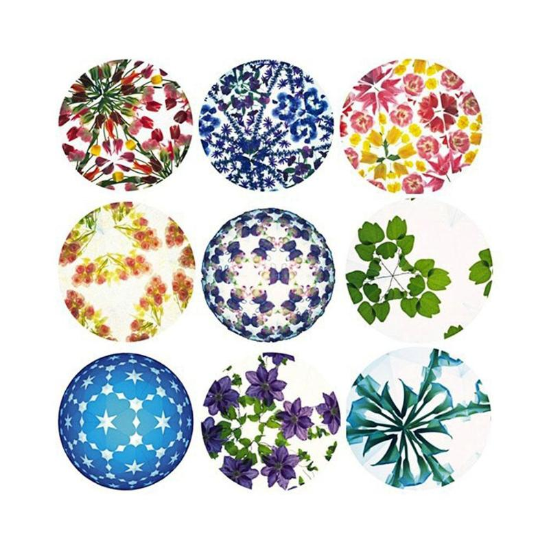 1 set DIY Colored Rotating Kaleidoscope Kits Science Experiment Educational Craft Kid Brain Hands Eyes Cooperation Training Toy in Kaleidoscope from Toys Hobbies