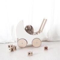 Ins Nordic Детские подставки для фотографий дерево Луна тележка аксессуары для детской куклы Опора Fotografia Recien Nacido Studio Детские принадлежности обу
