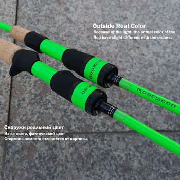 RoseWood Natural Force Series 2.1m High Carbon Cloth Fishing Rod 3 Tips L ML Medium Spinning Rod Casting Lure Rod 2 Sections