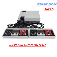 10PCS HDMI Out Retro Classic handheld game player Family TV video game console Childhood Built in 600 Games For mini HDMI