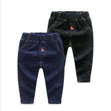 RICHM Casual Baby Boys Jean Autumn and Winter Pure Cotton Children Harem Pants for Baby Boys Trousers Kids Child Casual Pants цена