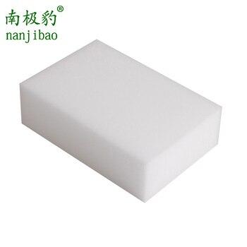 nanjibao 100 Pcs/lot Melamine Sponge Magic Sponge Eraser Accessory/Dish Kitchen Office Bathroom Cleaner Nano Wholesale 10*6*2CM