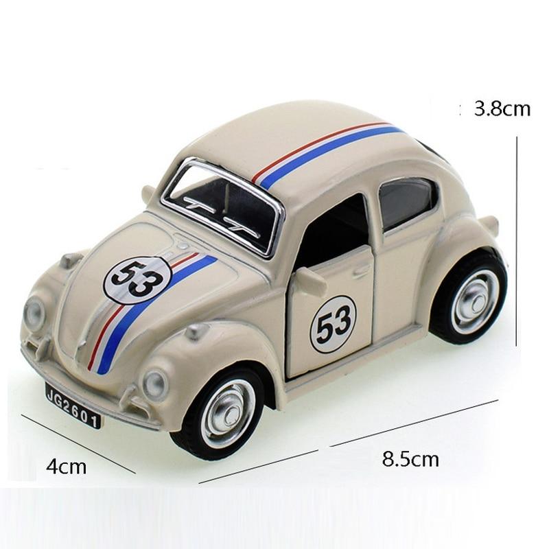 Herbie Volkswagen Beetle 53 Model Toy Car 3