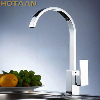 Free shipping ,Brass Quality Guarantee! kitchen sink tap ,kitchen mixer,square swivel Kitchen Faucets,torneira YT-6036 1