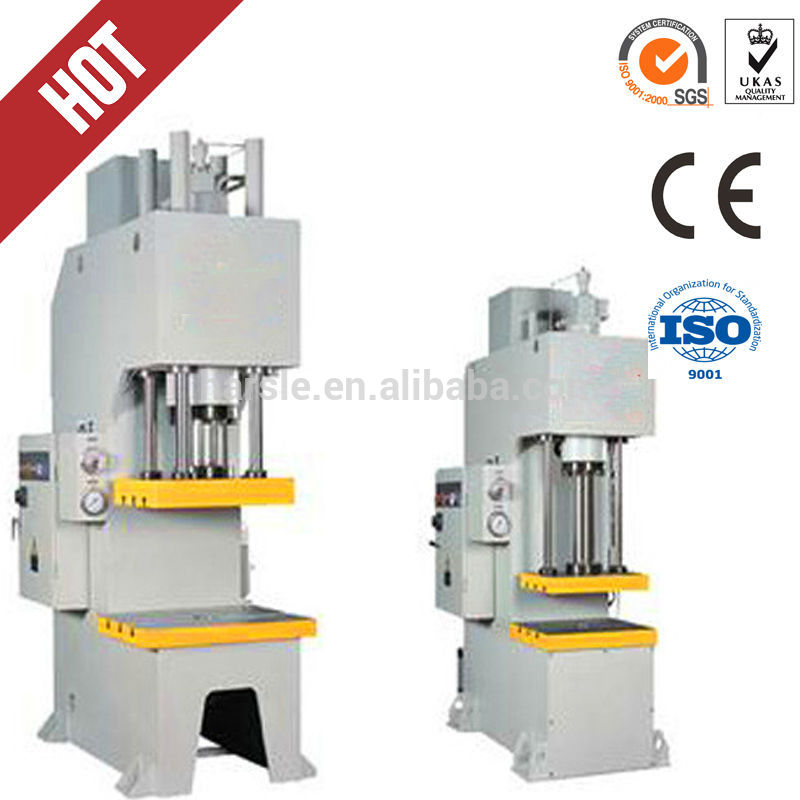 HOT sale 10ton C frame hydraulic press machine single column machine ...