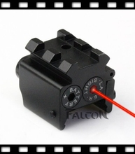 Hot Compact 650nm Red Laser Sight Dual Rail Mount For 1911 M9 G17 19 20 21