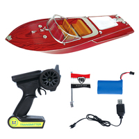 Flytec HQ2011 1 27MHz 2CH 15km/h High Speed Boat Electric RC Boat Ship Radio Control Speedboat barco RC Toys for Children Gift