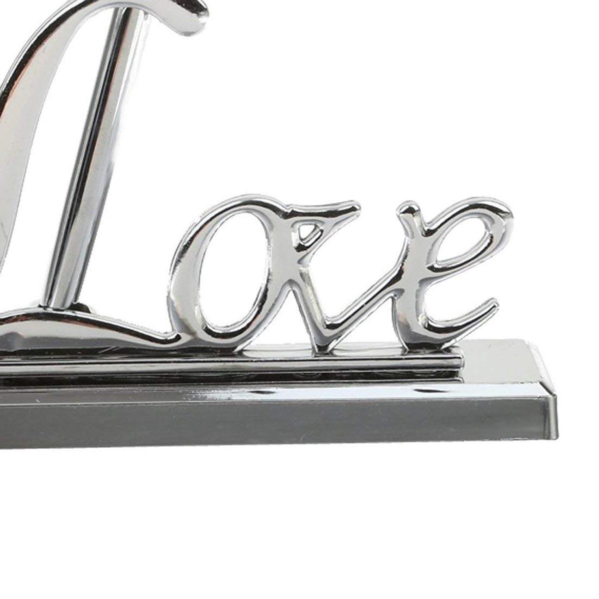 YHYS fête de mariage signature stylo avec argent amour titulaire livre invité signature stylo ensemble fournitures de mariage - 6