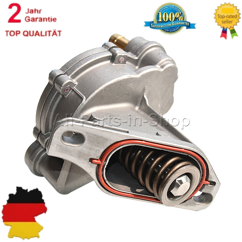 UNTERDRUCKPUMPE VAKUUMPUMPE BREMSANLAGE VW TRANSPORTER T4 2.4 D 2.5 TDI