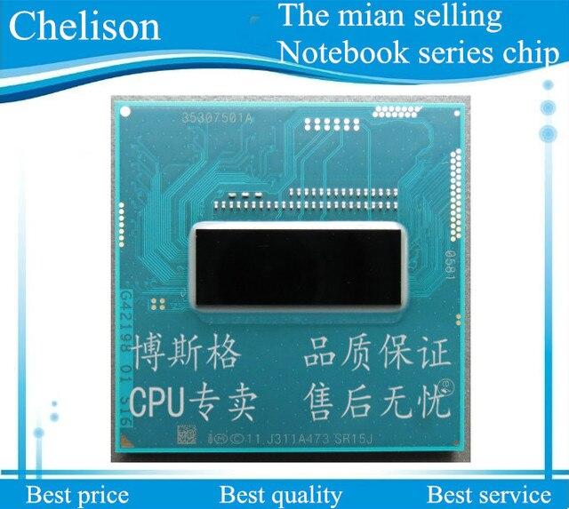 Бесплатная доставка! Новый Оригинальная версия I7-4702MQ ПРОЦЕССОР I7 4702MQ SR15J 2.2-3.2 Г 37 Вт low power quad восемь нить