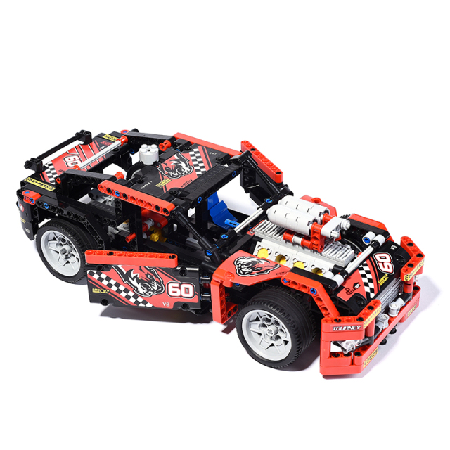Awesome Truck and Car Building Blocks (608 Pieces)