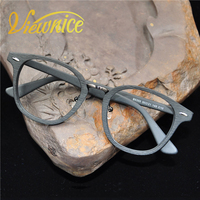 Viewnice 2017 New Arrival Rivet Wood Glasses Frame Female Retro Style Clear Lens Glasses Handmade Myopia