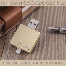 2in1 Newest OTG USB Flash Drive 512GB For IPhone IPad, 16GB 32GB 64GB Disk On Key Pendrive Mini Memory Stick Flash Card 128GB
