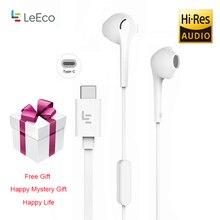 LeTV Leeco CDLA Type C Oortelefoon met 1.2 m Lengte Bedrade Controller Microfoon Headset met Gratis Cadeau voor LeTV xiaoMi LePDH401CH