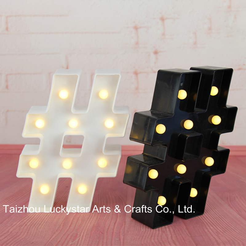 Aliexpress.com : Buy MINI Hashtag LED Marquee Sign LIGHT