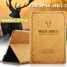 RBP caja de la Tableta para el ipad de aire 2 con Todo incluido para iPad aire 1 caso Ultra delgado para el ipad 5 6 caso 9.7 pulgadas de despertador Inteligente de aire 1 2 cubierta