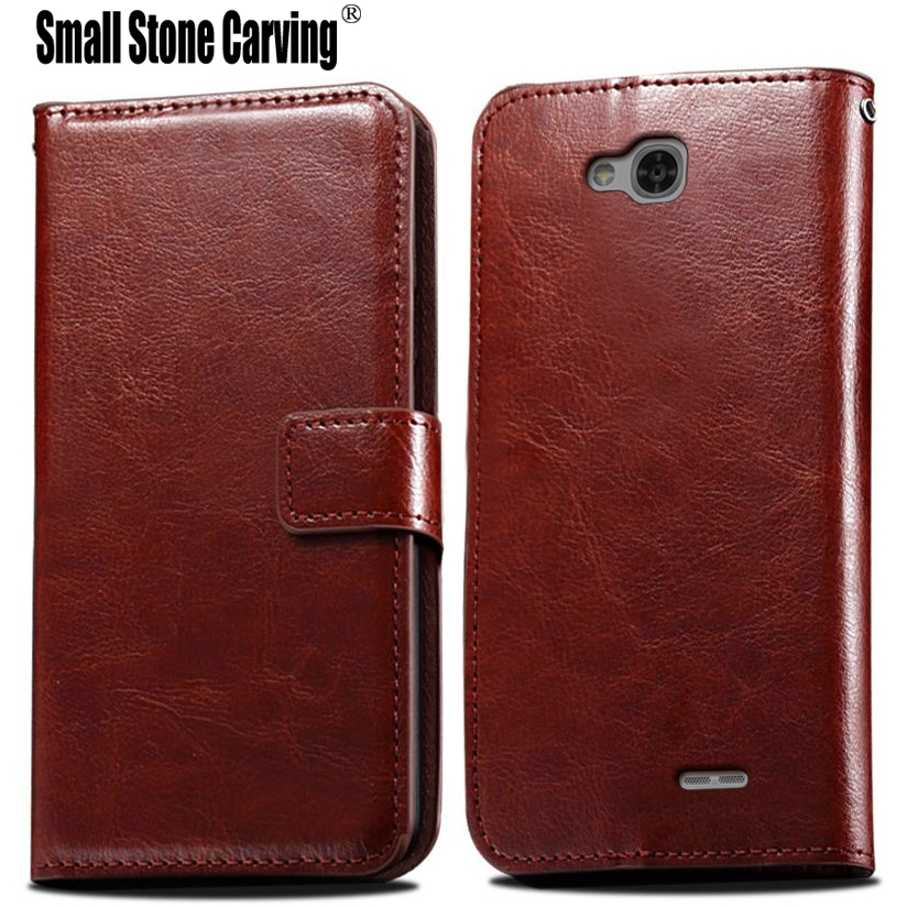 Luxury PU Leather Wallet For LG <font><b>L90</b></font> Case,Mobile <font><b>Phone</b></font> Bag Cover With Stand Card Holder Vintage Style Case For LG <font><b>L90</b></font> D405 D405N