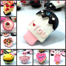 Shoe-Charms Wristbands Cake-Accessories Ice-Cream Kids Gift 1pcs Party Girls Special-Resin