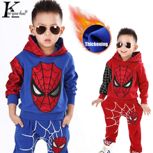 Children Clothing 2019 Winter Autumn Toddler Boys Clothes Sets Spiderman Costume Kids Clothes For Boys Sport Suit 3 4 5 6 7 Year