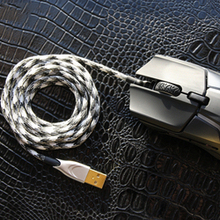 BINFUL Parachute Wire Knitting Mouse Wire Hand Knitting Applicable to Most Mouse FPS Players Love Ultra Light Weight